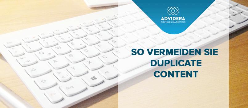 Duplicate Content einfach verhindern