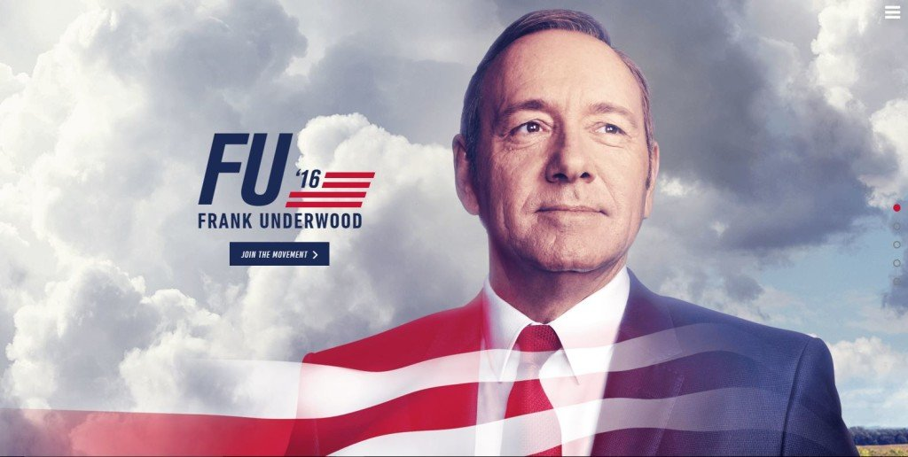 microsite: house of cards