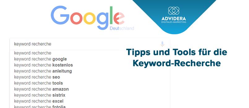 Tipps für die Keyword-Recherche
