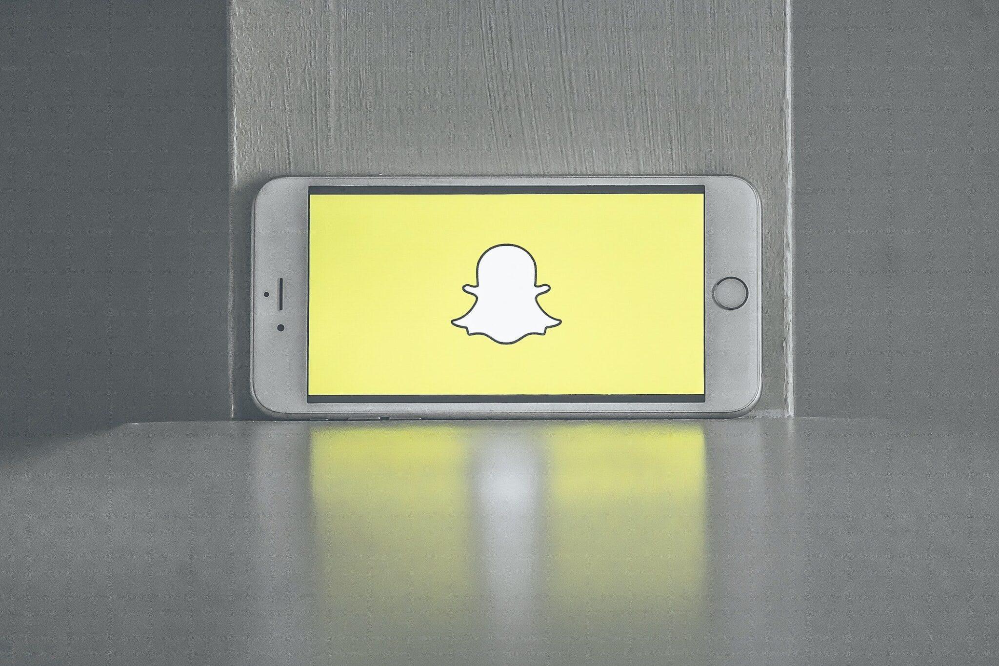Snapchat Logo Gelb
