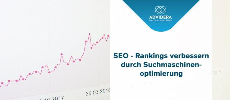 Rankings verbessern durch Suchmaschinenoptimierung