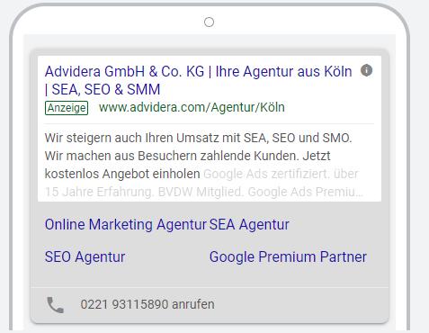 Google Ads Advidera